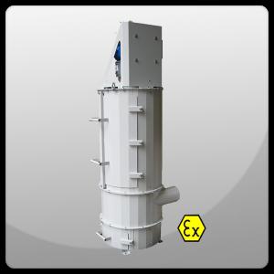Пылеулавливающие агрегаты во взрывозащищенном исполнении